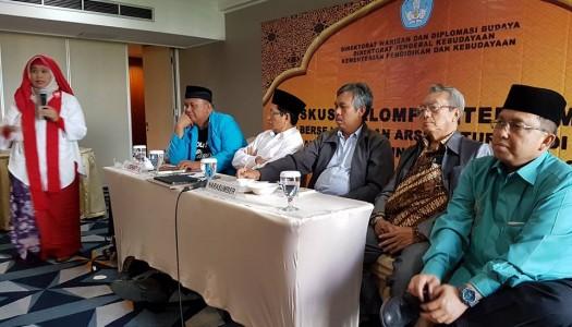 Kemendikbud Selenggarakan Diskusi Masjid-Masjid Nusantara Bersejarah dan Arsitekturnya