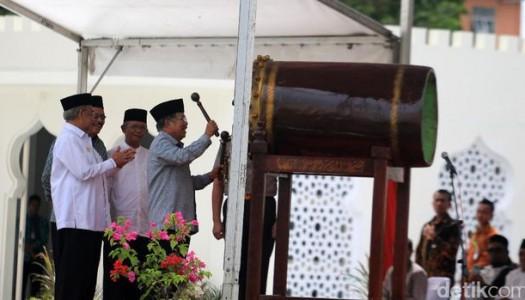 Wapres Kalla: Masjid Raya Baiturrahman dan Pentingnya Keadilan, Kedamaian, Kesejahteraan