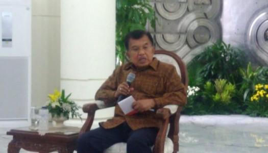 Wapres Kalla: Paham Khilafah Tidak Sesuai Dengan Konsep Kenegaraan Indonesia