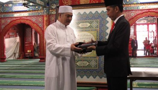 Presiden Jokowi Kunjungi Masjid Niujie, Tertua di Beijing