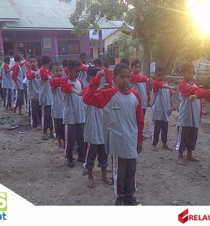 Sumber: https://www.relawansiaga.org  Para siswa Pondo Pesantren Manahil al-Irfan, Lembata, NTT