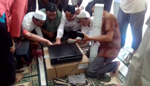 DMI DKI Selenggarakan Pelatihan Dasar Merakit Akustik Masjid
