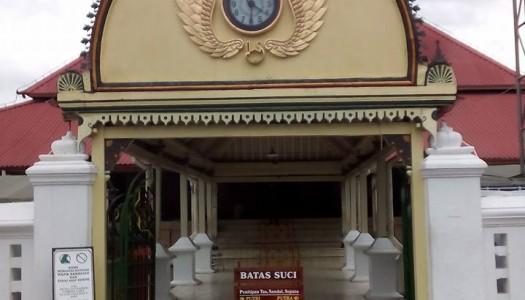 Masjid Gedhe Kauman, Keraton, dan Sultan Hamengku Buwono I