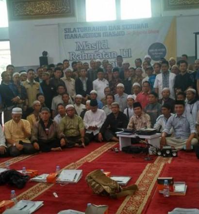 Peserta Program Pelatihan Merakit Akustik Masjid di Masjid Astra, Kota Jakarta Utara.  Sumber: Tim Akustik DMI/ Keto Pangulu