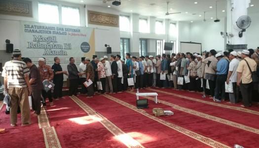 Saksikan Video Seminar Manajemen Masjid Se-Jakarta Utara