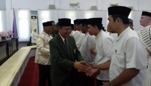 DMI Sulsel Kukuhkan Kepengurus DMI Kabupaten Enrekang 2017-2022