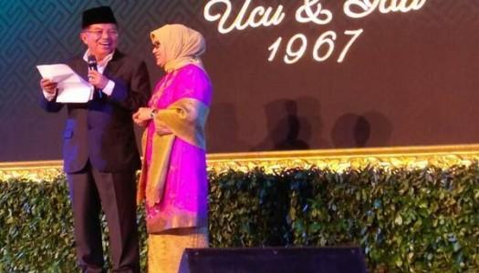 """Jusuf Kalla, Mufidah, dan Puisi """"Setengah Abad Yang Indah"""""""