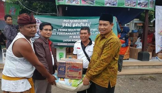 Saksikan Video Aksi Kemanusiaan DMI untuk Pengungsi Gunung Agung