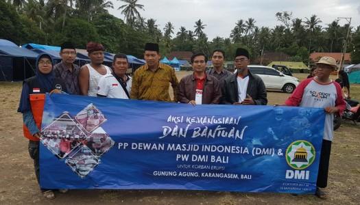 """PP DMI-DMI Bali Luncurkan Aksi Kemanusiaan """"Gunung Agung"""" Bali"""