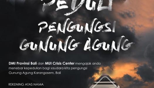 DMI Bali Dirikan Posko Tanggap Darurat Bencana Gunung Agung