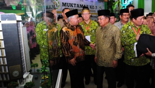Wapres Kalla Resmikan Pembukaan Muktamar VII DMI
