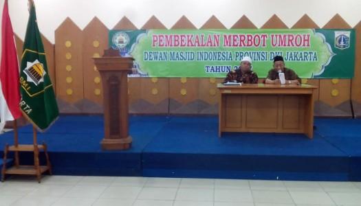 150 Marbot Masjid Ikuti Pembekalan Umrah DMI DKI