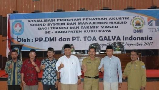 Alhamdulillah, DMI Revitalisasi Akustik di 38.222 Masjid se-Indonesia