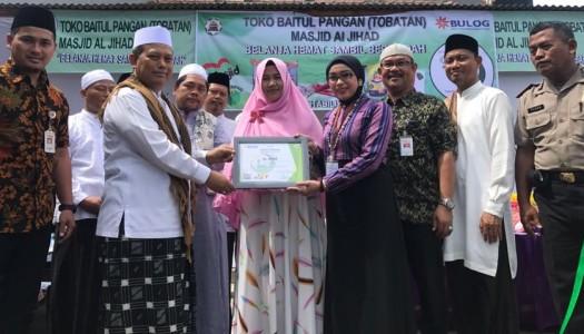 DMI-Bulog Resmikan Tobatan di Masjid Al Jihad, Bekasi