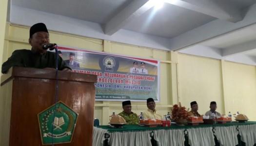 578 Imam Se-Bone Ikuti Bimtek Pengelolaan Masjid DMI