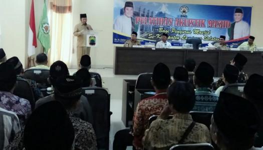 DMI Lampung Selatan Selenggarakan Pelatihan Akustik Masjid