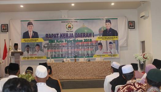 Selenggarakan Rakerda, DMI Palu Kembangkan Ekonomi Berbasis Masjid