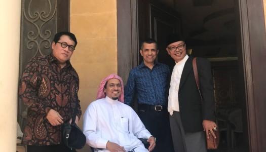 PP DMI Kunjungi Syaikh Khalid Al-Hamudi di Jeddah