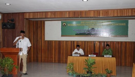 DMI Kabupaten Sintang Selenggarakan Musda VI