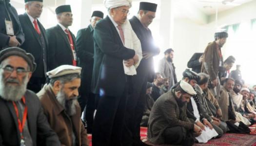 Wapres Kalla Sholat Tahiyatul Masjid di IIC, Afghanistan
