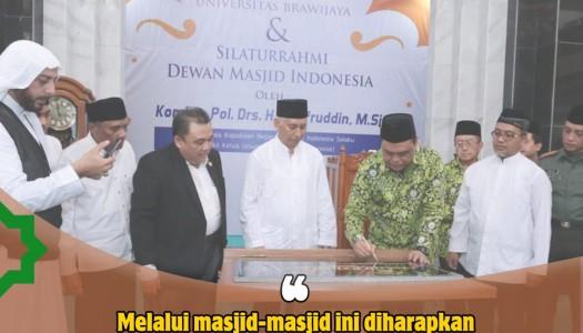 PP DMI Resmikan Masjid Raden Patah, Unibraw