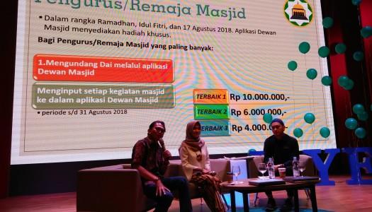 Aplikasi Dewan Masjid, Memakmurkan dan Dimakmurkan Masjid