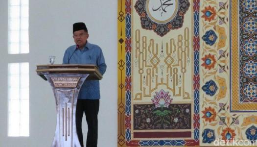 Wapres Kalla: Islam Itu Agama Damai, Saling Bersaudara dan Bersahabat