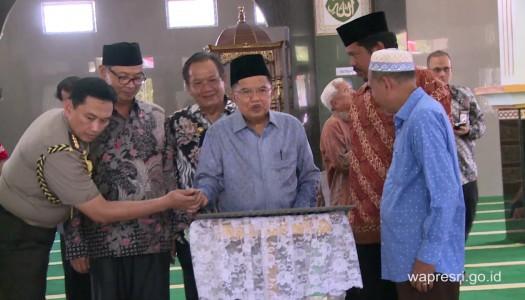 Video: Peresmian Masjid Jami' Baitullah, Tentena, oleh Wapres Kalla