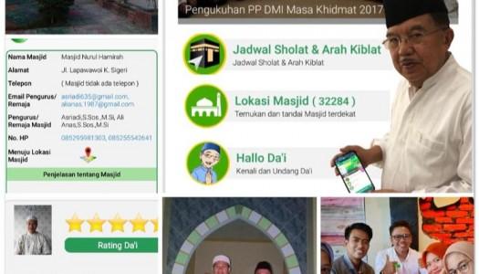 Aplikasi DMI Bantu Kemenag Hitung Jumlah Masjid di Indonesia