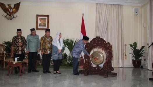 Wapres Kalla: DMI Rancang Arsitektur Masjid Berciri Khas Indonesia
