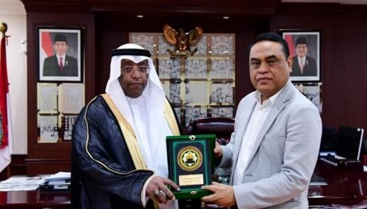 Pasca Bencana, Bank Riyadh-DMI Berkomitmen Bangun Masjid