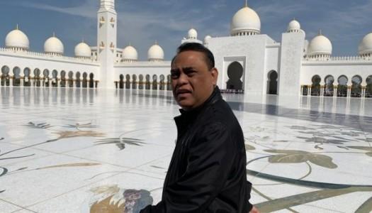 Waketum DMI Kunjungi Masjid Raya Abu Dhabi