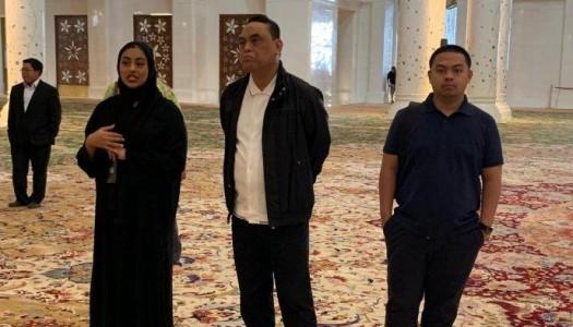 Video: Kunjungan Waketum DMI Ke Masjid Raya Abu Dhabi