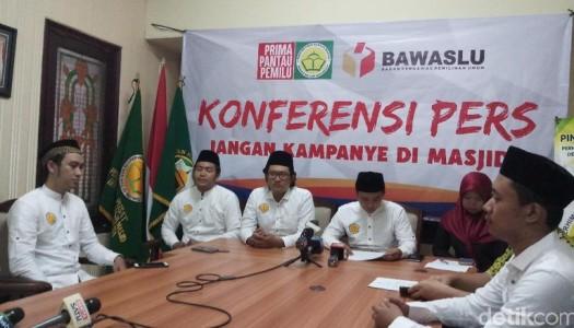 Video: Konferensi Pers PRIMA DMI: Stop Kampanye Di Masjid