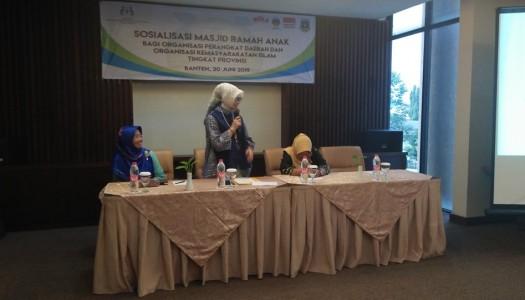 DMI-Kementerian PPPA Selenggarakan Sosialisasi MRA di Serang