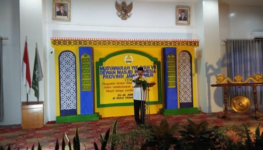 Selenggarakan Muswil VI, DMI Jatim Bantu 11.000 Imam Masjid