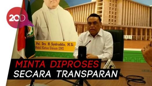 Video: DMI Mengutuk Keras Kasus Penitaan Masjid di Bogor