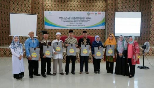 Kementerian PPPA-DMI Selenggarakan Sosialisasi MRA di Tanjung Pinang