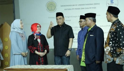 Bina Ekonomi Masjid, PRIMA DMI-P3DI Menandatangani MoU