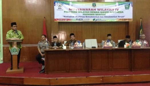 Alhamdulillah, KH. Muhammad Rasna Dahlan Ketua DMI Banten 2019-2024