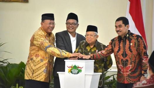Wapres KH. Ma'ruf Membuka Rakernas II – Halaqah Khatib Indonesia