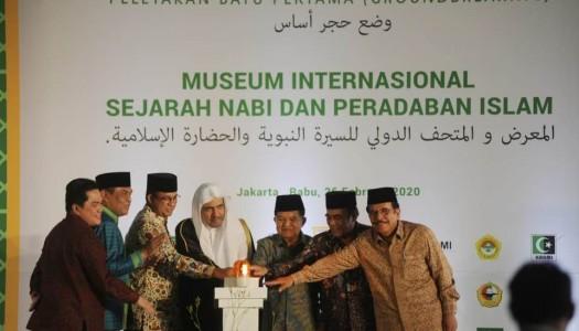 Jakarta, Lokasi Groundbreaking Pembangunan Museum Sejarah Nabi Muhammad SAW