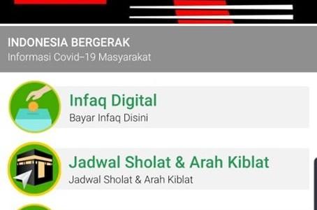 Fitur Baru Aplikasi DMI, 'Indonesia Bergerak: Informasi COVID-19 Masyarakat'