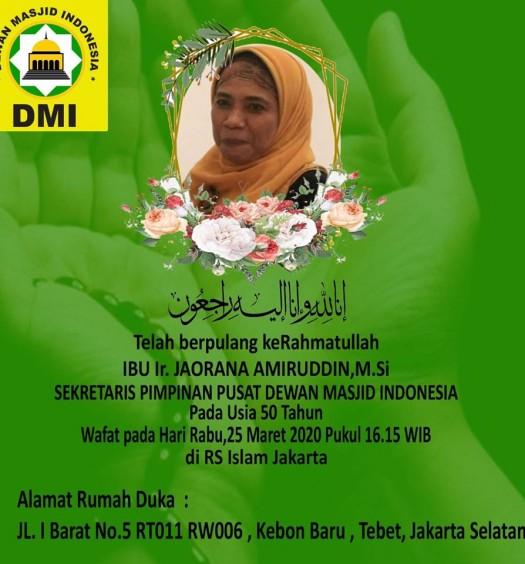 Sumber: Sekretariat PP DMI