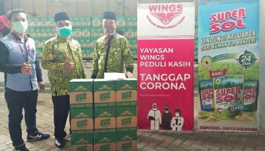 DMI Menyalurkan 25.000 Botol Karbol untuk Masjid-Masjid Kota Bekasi