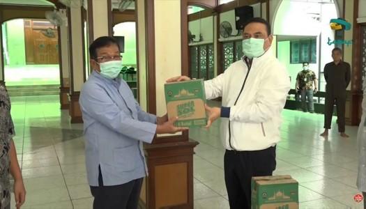 Video: Pandemi COVID-19, DMI Mendistribusikan Karbol dan Disinfektan Ke Masjid-Masjid