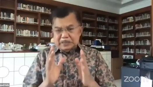 Jusuf Kalla: 'Masjid Memakmurkan Masyarakat Dengan Meningkatkan Ilmu Pengetahuan dan Ekonomi'