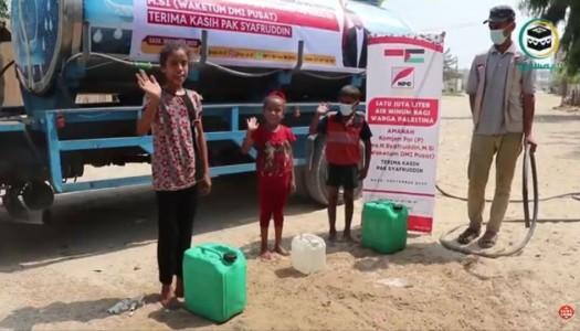 Video: DMI Menyalurkan Bantuan 1.000.000 Liter Air Bersih Untuk Gaza