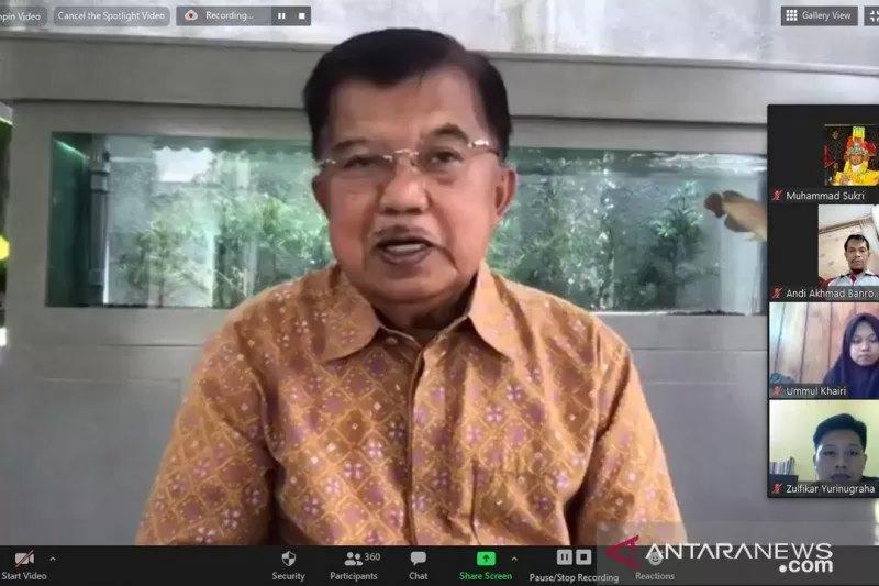 Sumber: https://www.antaranews.com/  Ketua Umum Pimpinan Pusat (PP) Dewan MAsjid Indonesia (DMI), Dr. (H.C.) Drs. H. Muhammad Jusuf Kalla, M.B.A.