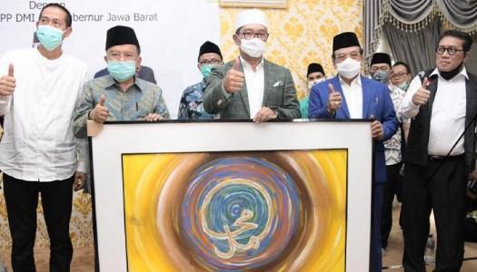 Silaturahmi Dengan DMI, Gubernur Jabar Lawan COVID-19 Di Masjid-Masjid